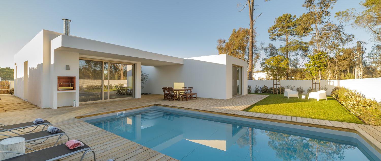 accueil - maison stylisée avec piscine
